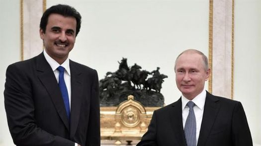 Putin ofrece a Catar compartir su experiencia en traspaso simbólico Mundial