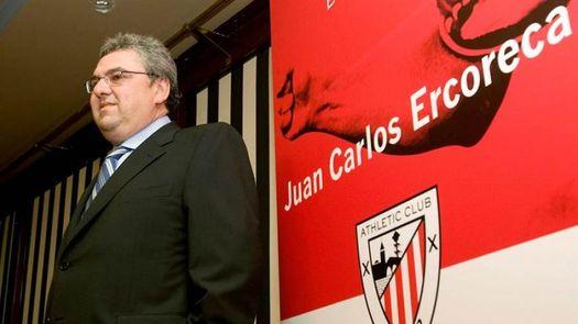 Juan Carlos Ercoreca sería el presidente de la Fundación Athletic con Elizegi