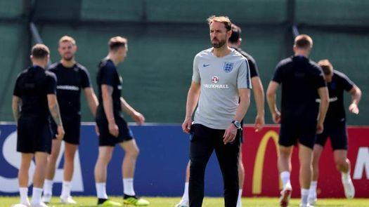 Inglaterra completa su último entrenamiento del Mundial