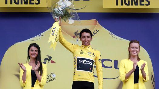 Egan Bernal, tercer colombiano que viste el maillot amarillo del Tour