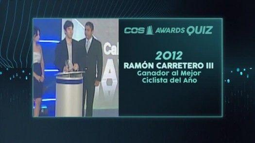 Mejor Ciclista del Año 2012