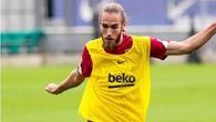 Un Barça mermado de efectivos completa su último entrenamiento de la semana