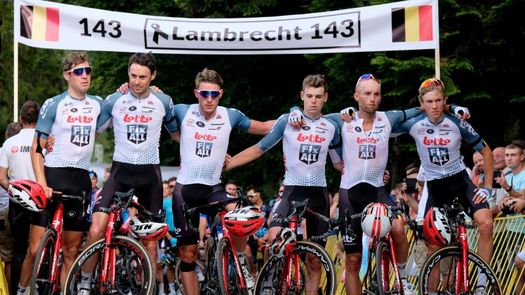 Cancelada la etapa de la Vuelta a Polonia en señal de duelo por Lambrechet