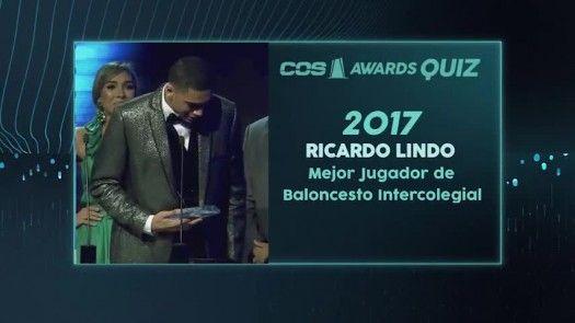 Mejor Jugador de Baloncesto Intercolegial 2017