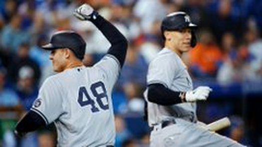 Yankees de Nueva York y sus escenarios esta noche en la MLB.