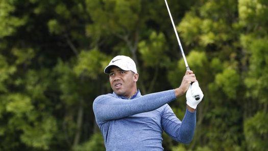 El venezolano Jhonattan Vegas, líder en Silvis tras una buena segunda ronda