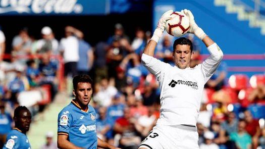 David Soria, tras los pasos del Pato Abbondanzieri