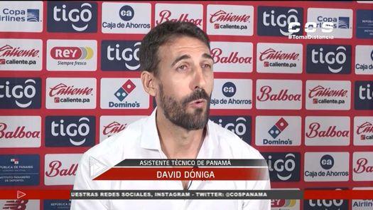 ¿Cuáles son las funciones de David Dóniga con la selección de Panamá?